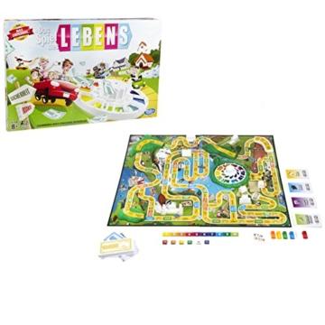 Hasbro - Das Spiel des Lebens, Klassiker unter den Familienspielen, ab 8 Jahren - 1