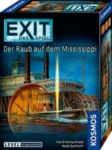 KOSMOS 691721 EXIT - Das Spiel - Der Raub auf dem Mississippi, Level: Fortgeschrittene, Escape Room Spiel - 1