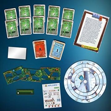 KOSMOS 691769 EXIT - Das Spiel - Der Flug ins Ungewisse, Level: Einsteiger, Escape Room Spiel - 3