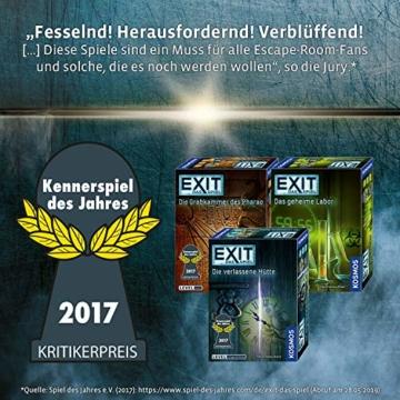 KOSMOS 691769 EXIT - Das Spiel - Der Flug ins Ungewisse, Level: Einsteiger, Escape Room Spiel - 6