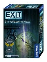 KOSMOS 692681 - EXIT - Das Spiel - Die verlassene Hütte, Kennerspiel des Jahres 2017, Level: Fortgeschrittene, Escape Room Spiel - 1