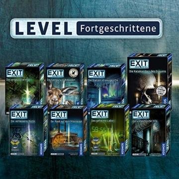 KOSMOS 692681 - EXIT - Das Spiel - Die verlassene Hütte, Kennerspiel des Jahres 2017, Level: Fortgeschrittene, Escape Room Spiel - 5