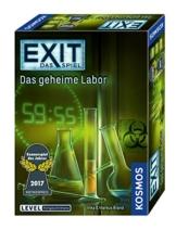 KOSMOS 692742 - EXIT - Das Spiel - Das geheime Labor, Kennerspiel des Jahres 2017, Level: Fortgeschrittene, Escape Room Spiel - 1