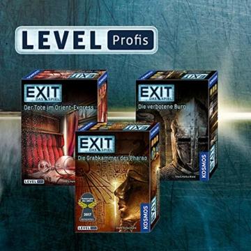 KOSMOS 692872 - EXIT - Das Spiel, Die verbotene Burg, Level: Profis, Escape Room Spiel, für 1 bis 4 Spieler ab 12 Jahren, einmaliges Event-Spiel für Erwachsene und Kinder - 4
