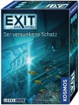Kosmos 694050 - EXIT - Das Spiel - Der versunkene Schatz, Level: Einsteiger, Escape Room Spiel - 1