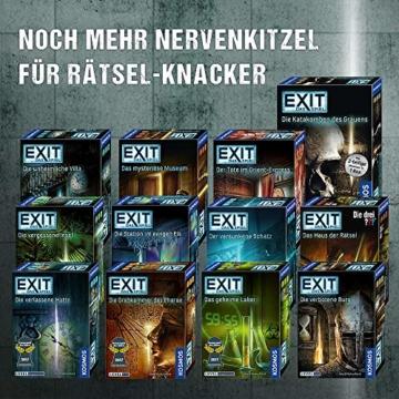 Kosmos 694050 - EXIT - Das Spiel - Der versunkene Schatz, Level: Einsteiger, Escape Room Spiel - 6