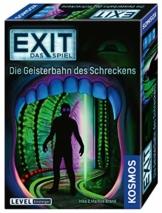 KOSMOS 697907 EXIT - Das Spiel - Die Geisterbahn des Schreckens, Level: Einsteiger, Escape Room Spiel - 1