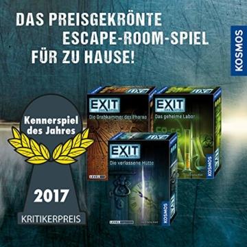 KOSMOS 697907 EXIT - Das Spiel - Die Geisterbahn des Schreckens, Level: Einsteiger, Escape Room Spiel - 5