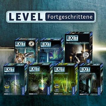 KOSMOS 697907 EXIT - Das Spiel - Die Geisterbahn des Schreckens, Level: Einsteiger, Escape Room Spiel - 7