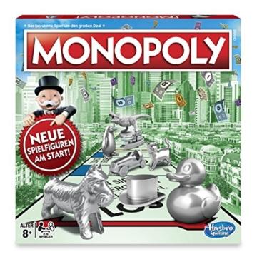 Monopoly Classic, Gesellschaftsspiel für Erwachsene & Kinder, Familienspiel, der Klassiker der Brettspiele, Gemeinschaftsspiel für 2 - 6 Personen, ab 8 Jahren - 3