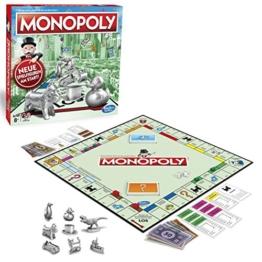 Monopoly Classic, Gesellschaftsspiel für Erwachsene & Kinder, Familienspiel, der Klassiker der Brettspiele, Gemeinschaftsspiel für 2 - 6 Personen, ab 8 Jahren - 1
