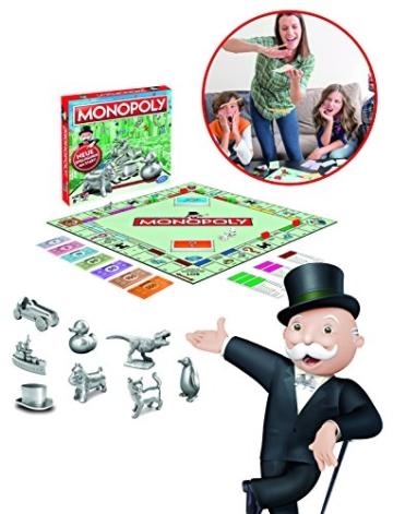 Monopoly Classic, Gesellschaftsspiel für Erwachsene & Kinder, Familienspiel, der Klassiker der Brettspiele, Gemeinschaftsspiel für 2 - 6 Personen, ab 8 Jahren - 5