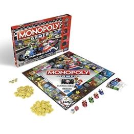 Monopoly Gamer Mario Kart, Gesellschaftsspiel für Erwachsene & Kinder, Familienspiel, der Klassiker der Brettspiele, Gemeinschaftsspiel für 2 - 4 Personen, ab 8 Jahren - 1