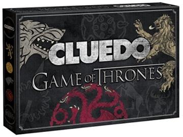 Cluedo Game of Thrones - Zwei Morde, zwei Geheimnisse, zwei Orte und jede Menge Verdächtige - 1