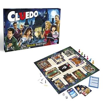 Hasbro Spiele 38712398 - Cluedo Familienspiel - 1