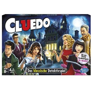 Hasbro Spiele 38712398 - Cluedo Familienspiel - 3
