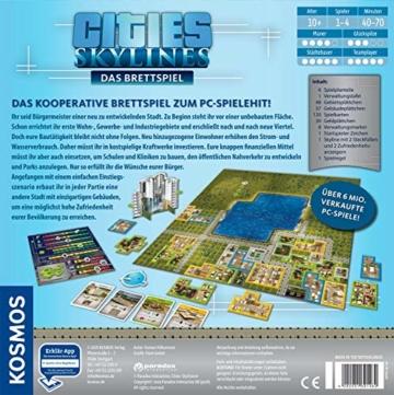 KOSMOS 691462 - Cities: Skylines, Das Brettspiel zum PC-Spiel, Für 1 bis 4 Spieler ab 10 Jahren - 2