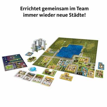 KOSMOS 691462 - Cities: Skylines, Das Brettspiel zum PC-Spiel, Für 1 bis 4 Spieler ab 10 Jahren - 3