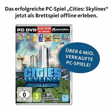 KOSMOS 691462 - Cities: Skylines, Das Brettspiel zum PC-Spiel, Für 1 bis 4 Spieler ab 10 Jahren - 4