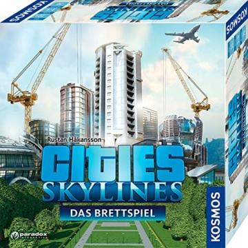 KOSMOS 691462 - Cities: Skylines, Das Brettspiel zum PC-Spiel, Für 1 bis 4 Spieler ab 10 Jahren - 1