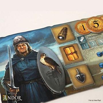 Kosmos 691745 - Die Legenden von Andor, Das Grundspiel, Kennerspiel des  Jahres 2013, kooperatives Fantasy-Brettspiel ab 10 Jahren - 4