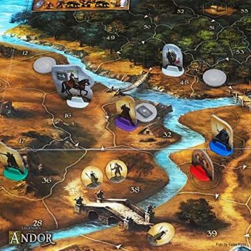 Kosmos 691745 - Die Legenden von Andor, Das Grundspiel, Kennerspiel des  Jahres 2013, kooperatives Fantasy-Brettspiel ab 10 Jahren - 7