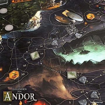 Kosmos 691745 - Die Legenden von Andor, Das Grundspiel, Kennerspiel des  Jahres 2013, kooperatives Fantasy-Brettspiel ab 10 Jahren - 8