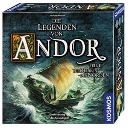 """KOSMOS 692346 Die Legenden von Andor - Teil II Die Reise in den Norden, Erweiterung für das Grundspiel """"Die Legenden von Andor"""", ab 10 Jahren, Fantasy-Brettspiel - 1"""
