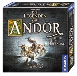 Kosmos 692803 - Die Legenden von Andor - Teil III Die letzte Hoffnung, Fantasy-Brettspiel ab 10 Jahre, das große Finale der Andor-Trilogie, eigenständiges Spiel - 1