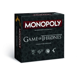 Monopoly Game of Thrones Collector's Edition – Das Spiel zur angesagten Serie (Deutsch) - 1