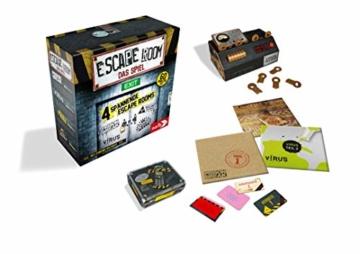 Noris Escape Room (Grundspiel) - Familien und Gesellschaftsspiel für Erwachsene, inkl. 4 Fällen und Chrono Decoder, ab 16 Jahren - 3
