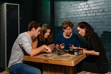 Noris Escape Room (Grundspiel) - Familien und Gesellschaftsspiel für Erwachsene, inkl. 4 Fällen und Chrono Decoder, ab 16 Jahren - 7