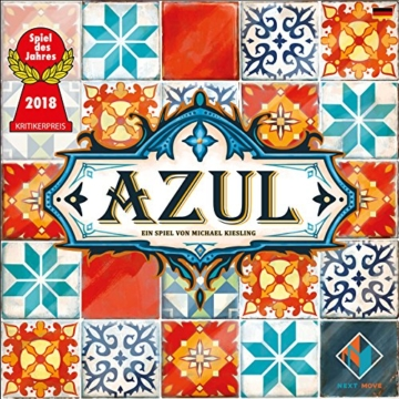 Pegasus Spiele 54801G - Azul (Next Move Games) Spiel des Jahres 2018 - 2