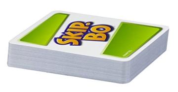 Mattel Games 52370 Skip-Bo Kartenspiel und Familienspiel geeignet für 2 - 6 Spieler, Spiel ab 7 Jahren - 2