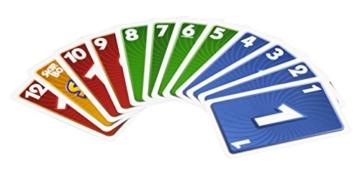 Mattel Games 52370 Skip-Bo Kartenspiel und Familienspiel geeignet für 2 - 6 Spieler, Spiel ab 7 Jahren - 7