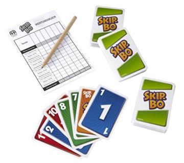 Mattel Games L3671 Skip-Bo Deluxe in Metalldose Kartenspiel, geeignet für 2 - 6 Spieler, Spieldauer ca. 30 Minuten, ab 7 Jahren - 7