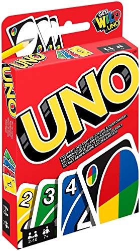Mattel Spar-Set 169882 3-er Set Kartenspiele: UNO, Skip BO und Phase 10 - 4