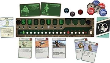 Fantasy Flight Games FFGD0161 Fallout: Das Brettspiel, Merhfarbig, Bunt - 3