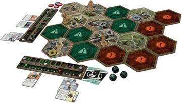 Fantasy Flight Games FFGD0161 Fallout: Das Brettspiel, Merhfarbig, Bunt - 4