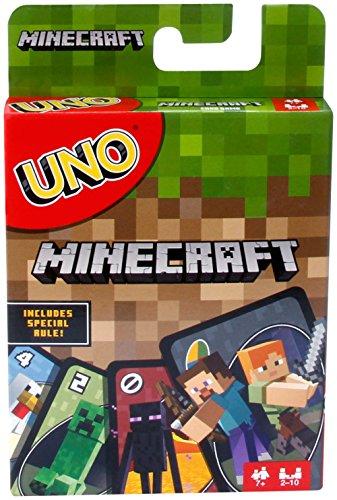 Mattel Uno Minecraft Card Game - 1