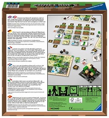 Ravensburger Spiele 26132 - Minecraft Builders & Biomes 26132 - Spannendes Brettspiel ab 10 Jahren - 3
