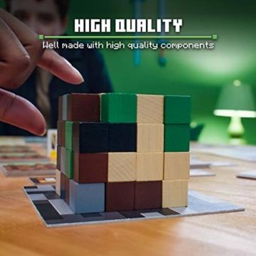 Ravensburger Spiele 26132 - Minecraft Builders & Biomes 26132 - Spannendes Brettspiel ab 10 Jahren - 4