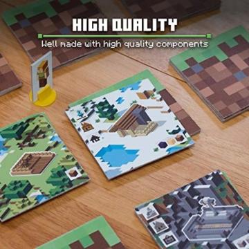 Ravensburger Spiele 26132 - Minecraft Builders & Biomes 26132 - Spannendes Brettspiel ab 10 Jahren - 6