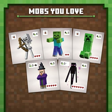 Ravensburger Spiele 26132 - Minecraft Builders & Biomes 26132 - Spannendes Brettspiel ab 10 Jahren - 7