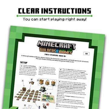 Ravensburger Spiele 26132 - Minecraft Builders & Biomes 26132 - Spannendes Brettspiel ab 10 Jahren - 8