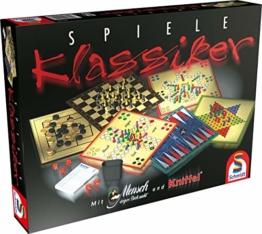 Schmidt Spiele 49120 Spiele Klassiker, Spielesammlung, bunt - 1