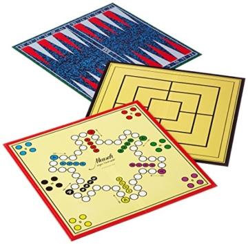 Schmidt Spiele 49120 Spiele Klassiker, Spielesammlung, bunt - 2