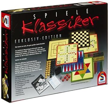 Schmidt Spiele 49120 Spiele Klassiker, Spielesammlung, bunt - 3
