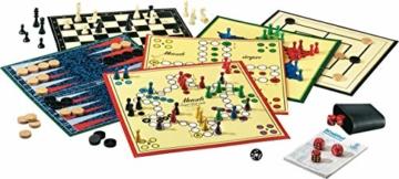 Schmidt Spiele 49120 Spiele Klassiker, Spielesammlung, bunt - 4