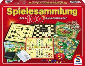 Schmidt Spiele 49147 - Spielesammlung, MIt 100 Spielmöglichkeiten - 1